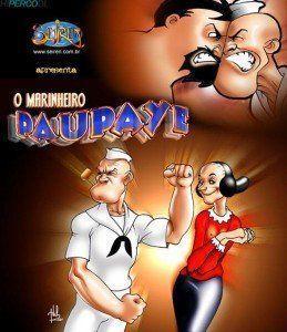 O marinheiro Paupaye o professor de balé
